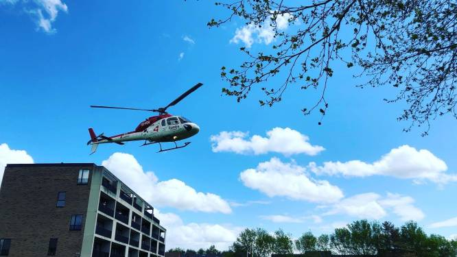 """MUG-helikopter landt op College ten Doorn: """"Leerling onwel, maar geen reden tot paniek"""""""