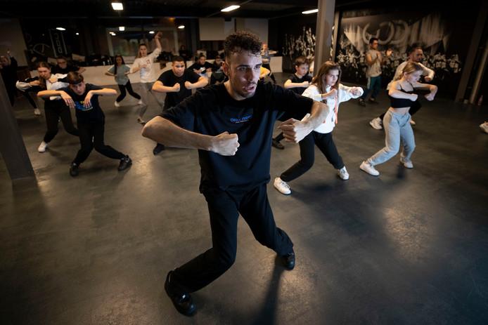 De Veldhovense choreograaf Sergio Reis.