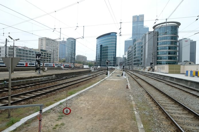De goederentreinen rijden voortaan sneller door naar Brussel-Zuid.
