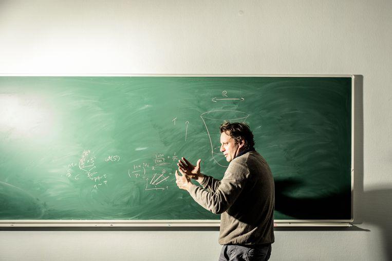 Thomas Hertog  is een Belgische theoretisch natuurkundige en als hoogleraar verbonden aan de KU Leuven. Beeld Franky Verdickt