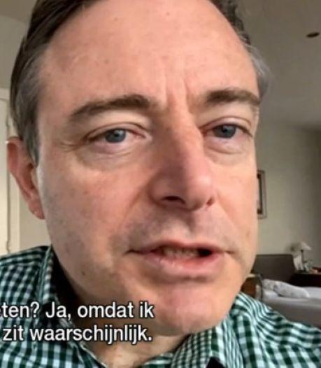 Un caleçon de Bart De Wever exposé dans un musée à Amsterdam