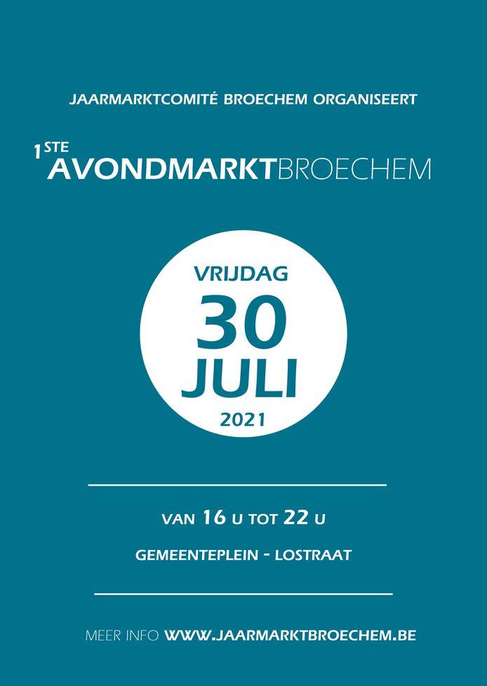 Avondmarkt 2021 Broechem