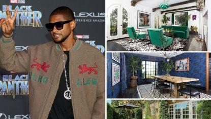 Usher zet huis te koop voor 4,2 miljoen dollar