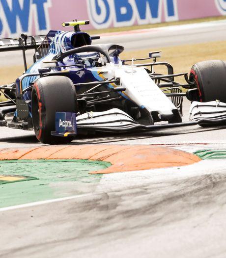 F1-coureur Latifi kan aanrijding met overstekende haas nog net voorkomen