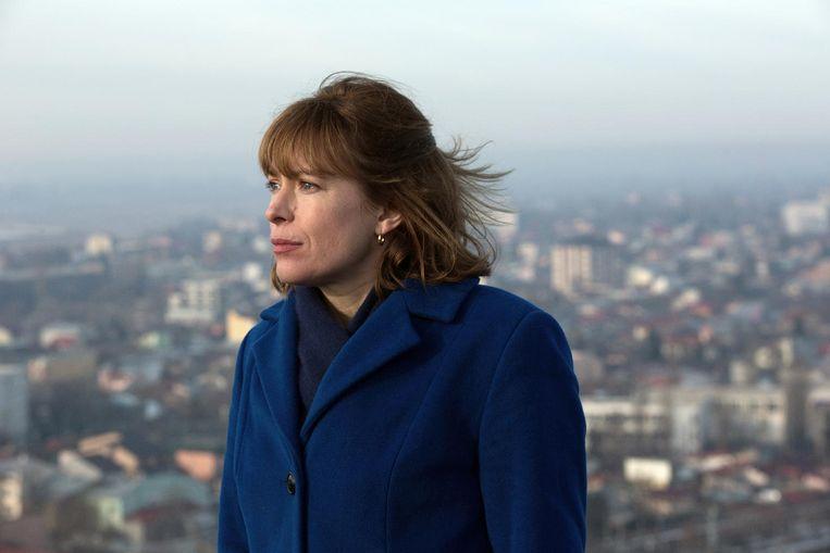 Actrice Maria Kraakman (42), speelt de rol van Lin. Beeld null