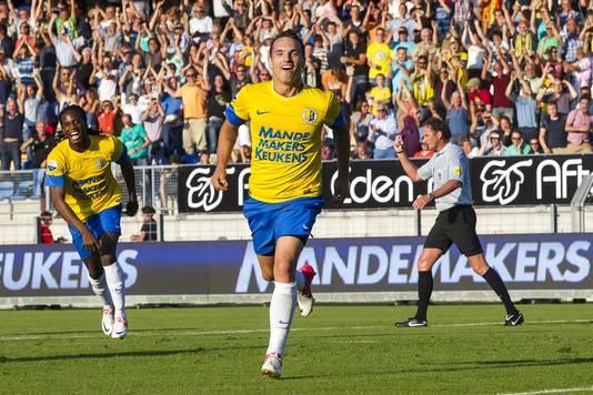 Rodney Sneijder heeft gescoord voor RKC.