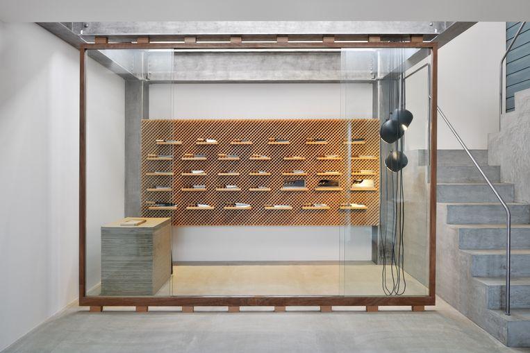 De showroom van ontwerper Yusuke Seki. Beeld DAVID DE VLEESCHAUWER