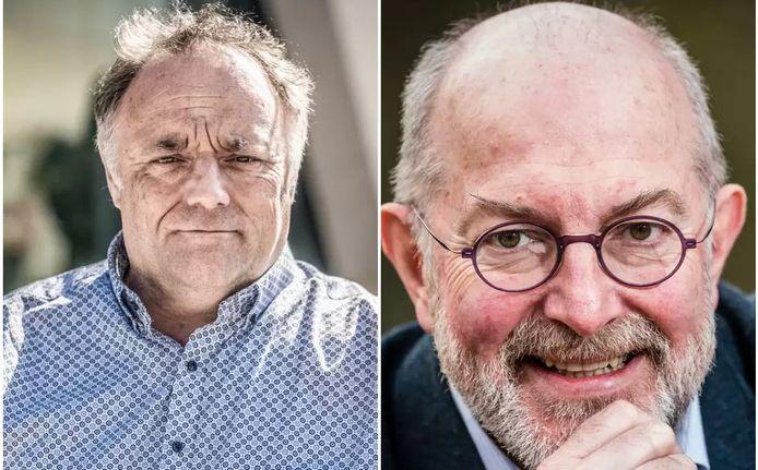 Marc Van Ranst (KU Leuven) et Pierre Van Damme (U Antwerpen)