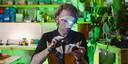Edwin Dertien, docent en onderzoeker aan de UT en robotontwerper.
