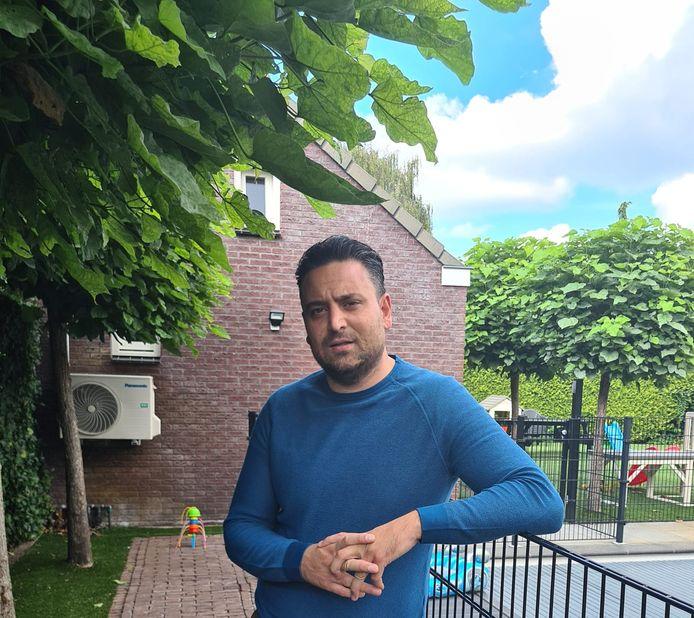 De ondernemer Burak Seferoglu ligt in de clinch met de gemeente Waalwijk over een vergunning voor het huisvesten van arbeidsmigranten.