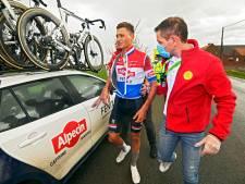 Mathieu van der Poel in de sloot: paniek op d'n Bels