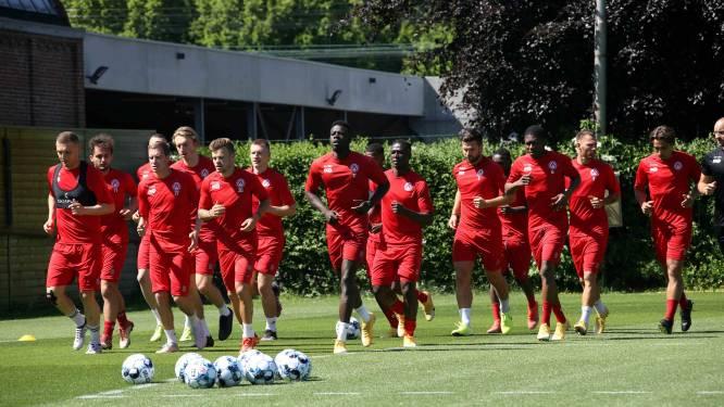 KV Kortrijk hervatte training onder stralende zon met nieuwkomer Fixelles en... zonder keepers