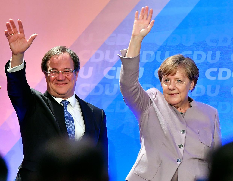 Laschet heeft een goede kans om lijsttrekker voor de CDU te worden. Beeld AP