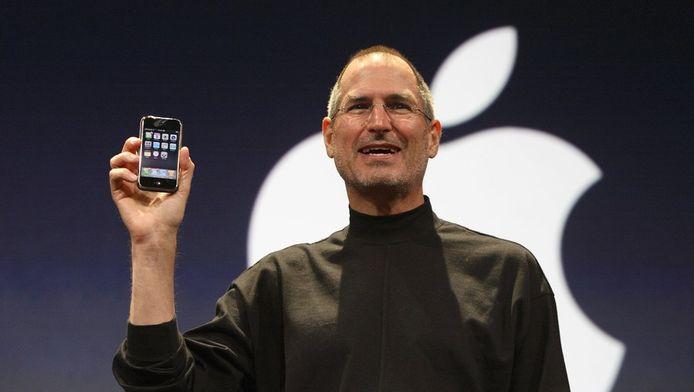Steve Jobs, le 9 janvier 2007.