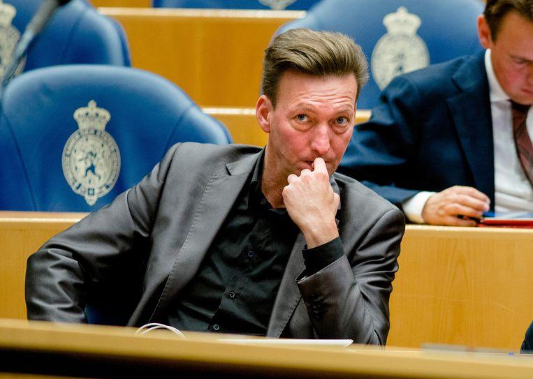 Tjeerd van Dekken vorig jaar in de Kamer. Beeld anp
