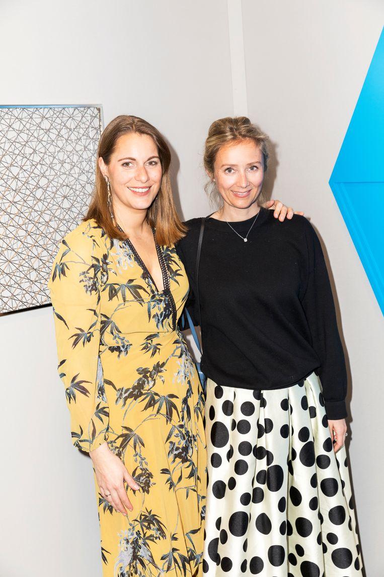Laura De Beir en Ellen De Schepper Beeld Marie Wanders