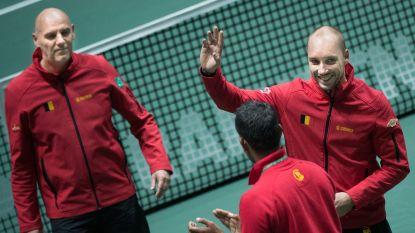 """Merci, Steve 'Mister Davis Cup' Darcis: """"Ik heb magische momenten beleefd"""""""