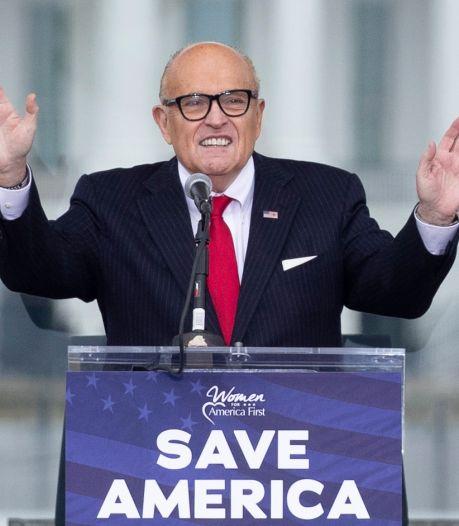 'Trump wil advocaat Giuliani niet betalen' (20.000 dollar per dag)