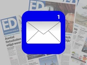 Ontvang het belangrijkste nieuws van het ED dagelijks in jouw mailbox