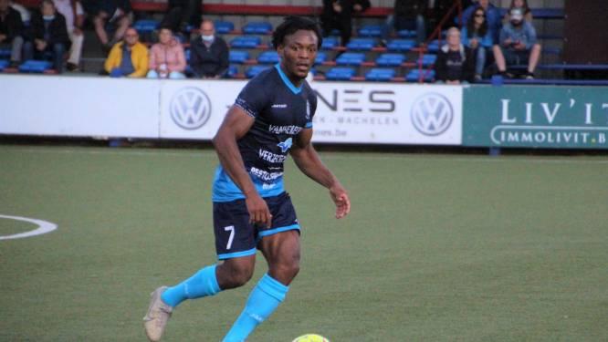 """Joel Kalonji (Ol. Wijgmaal) hoopt opnieuw te schitteren tussen de lijnen tegen Sporting Hasselt: """"Ik voel nog altijd vertrouwen"""""""