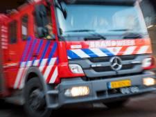 Grote schade na brand in bovenwoning Leiden