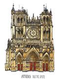 De kathedraal van Amiens