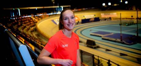 Apeldoornse Daniëlle Spek pakt tweede Nederlandse titel indoor, maar had veel verder willen springen
