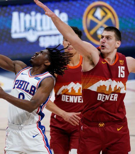 Denver s'impose face à Philadelphie, les Clippers surpris par Orlando