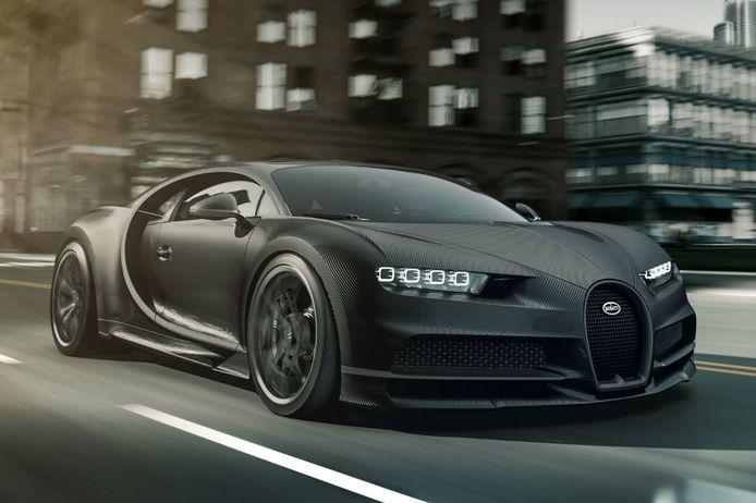 Wil je deze Bugatti Chiron in het zwart? Dat kan, maar het kost je 500.000 euro extra.