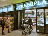 Jawid en Yaser beginnen een versmarkt in een spookwinkelcentrum