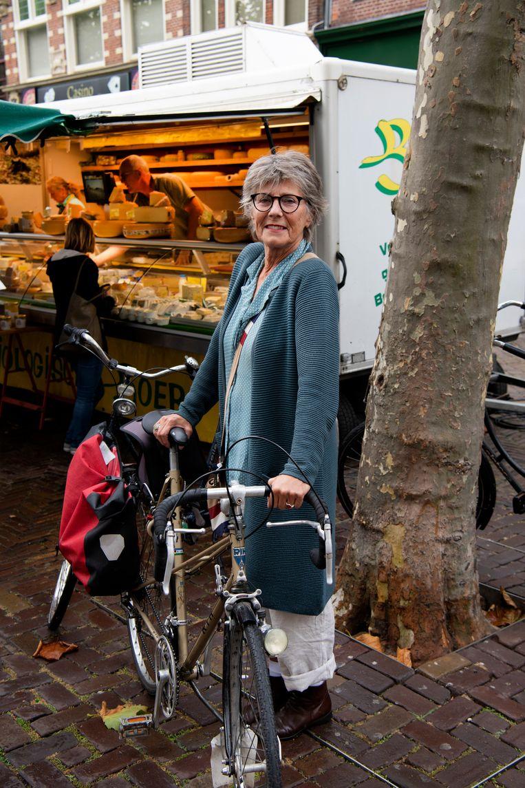 Thera ter Beek (70), psychotherapeut, stemde Kaag Beeld Olaf Kraak