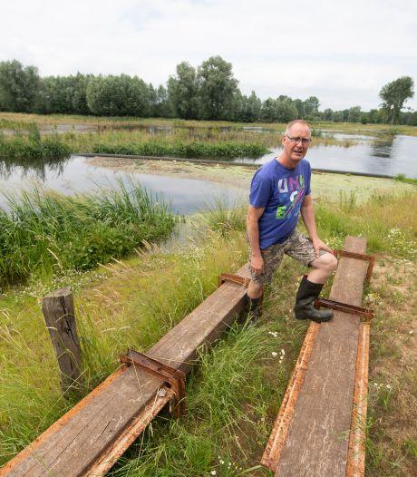 Natuurboer Bert luidt noodklok over droogte in Enterse Reggedal: 'Ik maak elke dag mee hoe erg 't is'