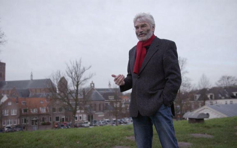 Landschapsarchitect Han Lörzing. Beeld