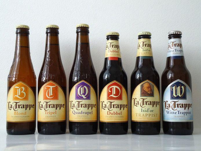 De bieren van La Trappe.