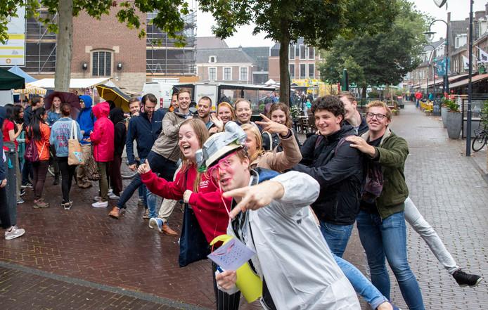 De introductie voor nieuwe studenten in Wageningen.