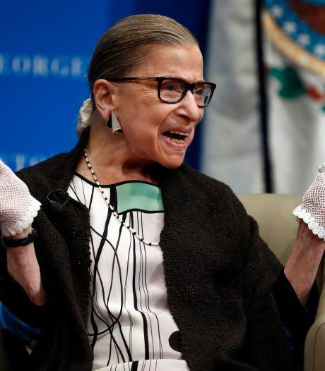 Hoe de 85-jarige rechter Ginsburg dé heldin van Amerika werd