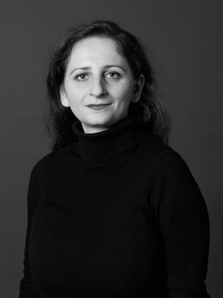 Hala Naoum Néhmé, raadslid voor VVD Amsterdam. Beeld Annaleen Louwes