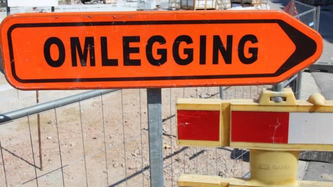 Landbouw- en Oude Zilverbergstraat plaatselijk dicht door werken