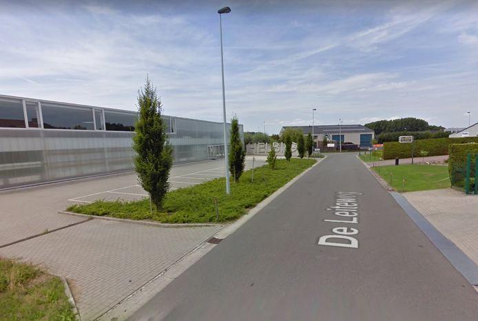 Een zoekactie op het industrieterrein De Leite leverde aanvankelijk niets op.