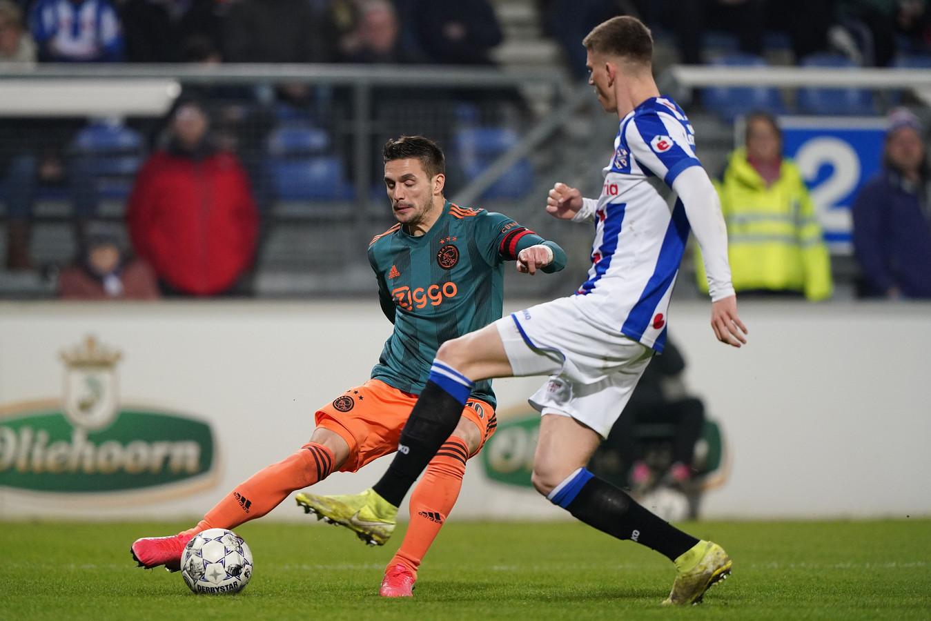 Ajax verloor geen van hun laatste 24 wedstrijden tegen SC Heerenveen.