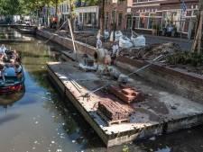 Herstelwerkzaamheden kade Zuidsingel duren langer dan gedacht