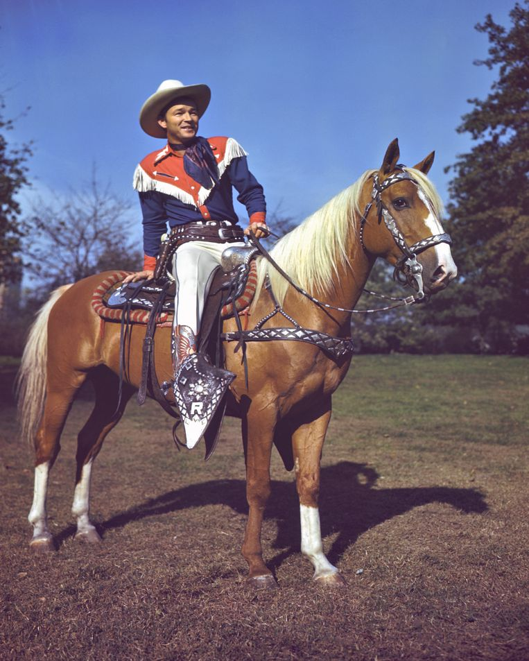 Roy Rogers.  Beeld Getty Images