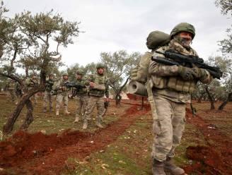 Twee Turkse soldaten gedood bij aanval in Noord-Syrië
