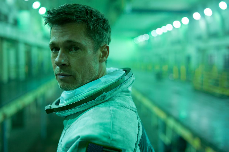 Brad Pitt in het sf-ruimtedrama Ad Astra.