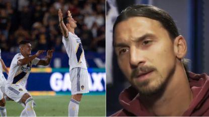 """He strikes again: Zlatan boort rivaal de grond in en maakt weergaloze hattrick: """"Een Ferrari in een competitie vol Fiats"""""""