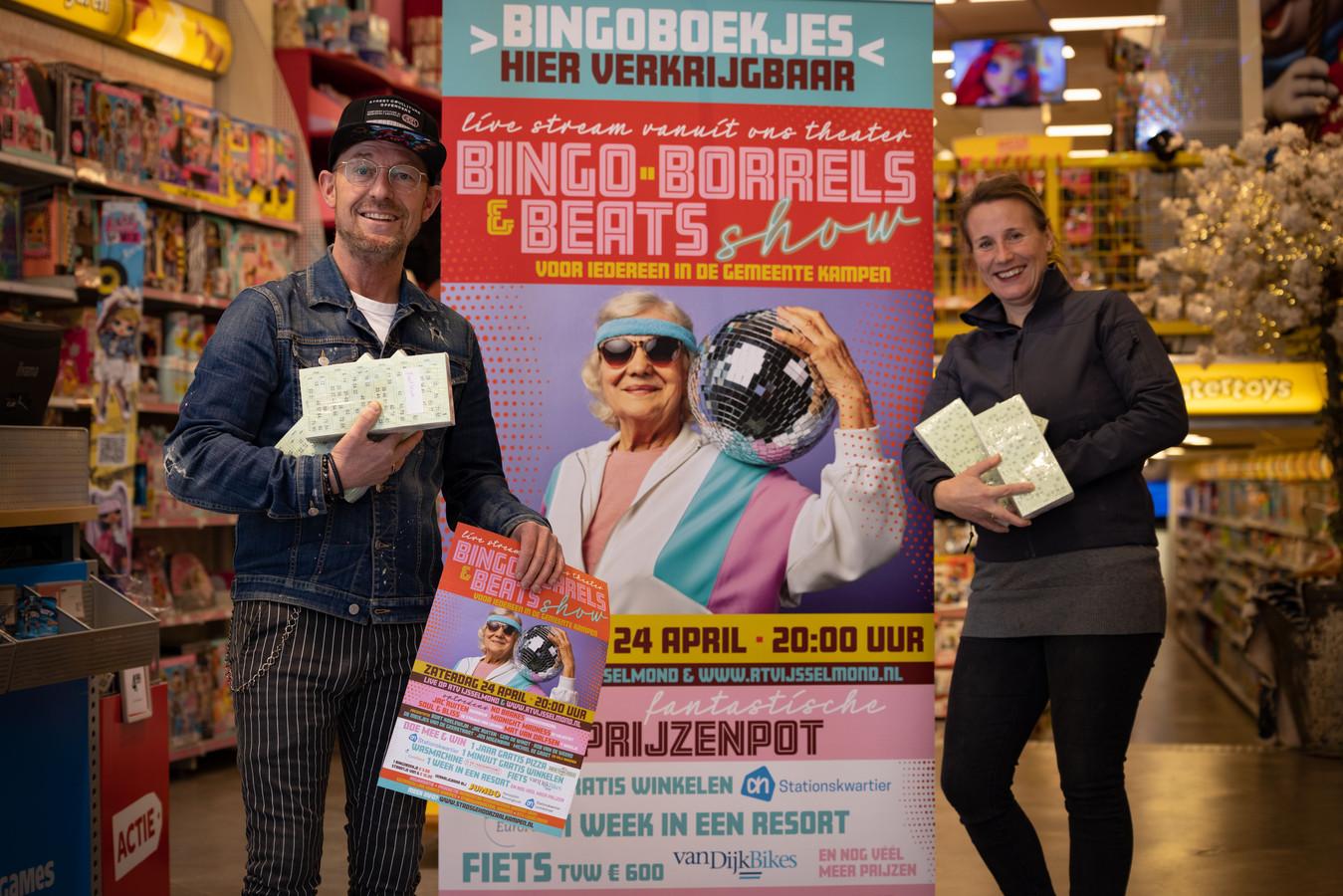 Op zaterdagavond 24 april is er een grootse bingo-avond in de Stadsgehoorzaal in Kampen. Presentatoren zijn Michiel de Groot en Geri de Windt.