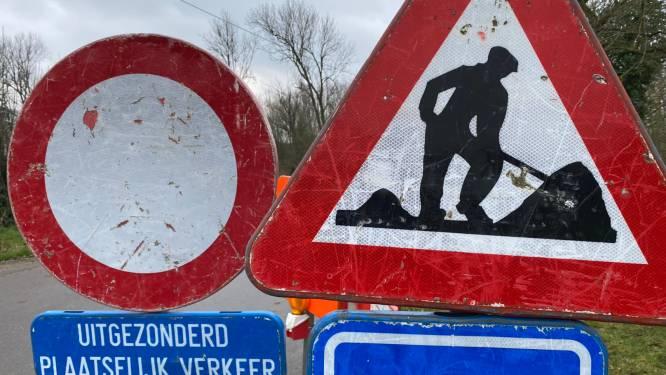 Westvaartdijk tot aan Industrieweg afgesloten voor verkeer tot 9 juli