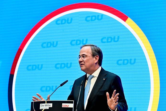 Armin Laschet, de keuze van de Duitse christendemocraten om Angela Merkel op te volgen als bondskanselier.