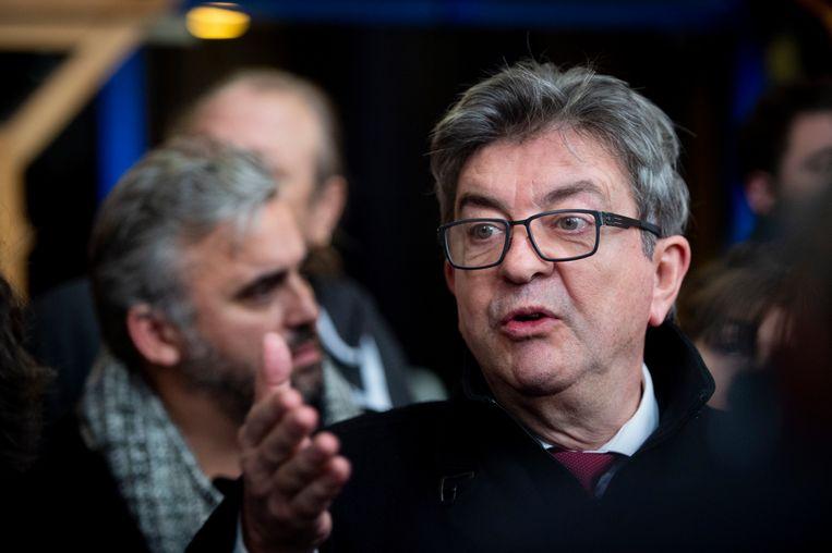 Jean Luc Mélenchon,  Beeld Photo News