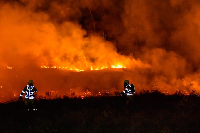 De brand op de Overasseltse en Hatertse Vennen.